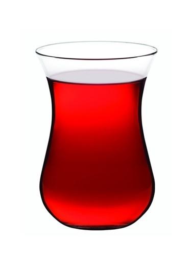 Paşabahçe Paşabahçe 62541 çay bardak - izmir 6 lı çay bardağı Renkli
